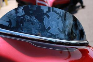 Bike windshield